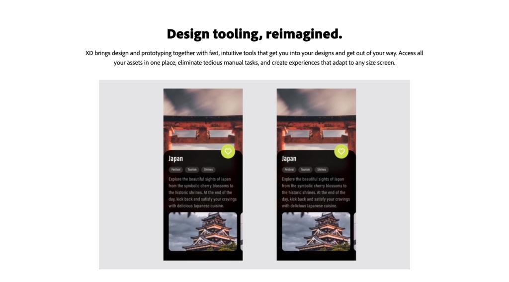 adobe xd mockup and ui ux design tool