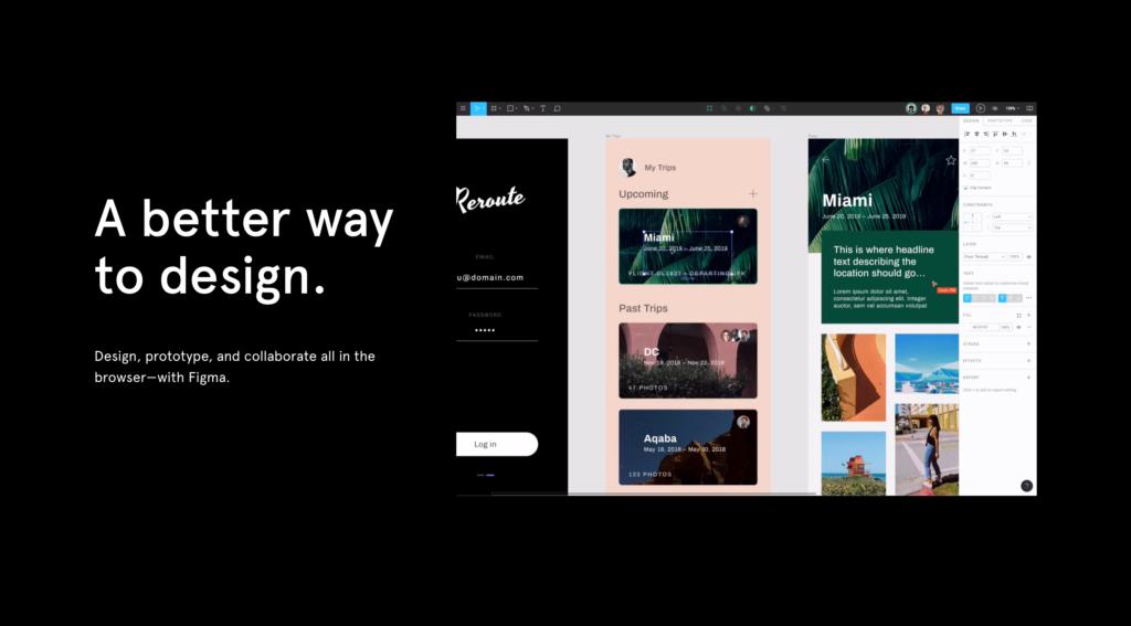 figma ui ux design tool