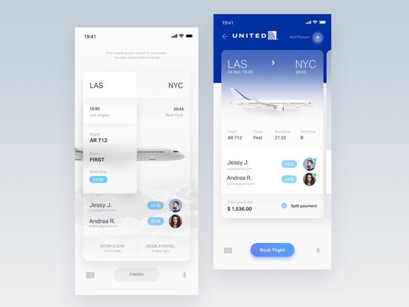Flights Ticket App