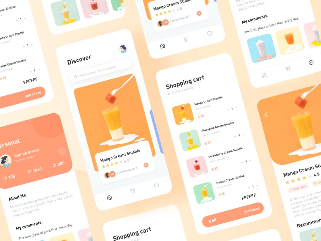 Soft Drinks App