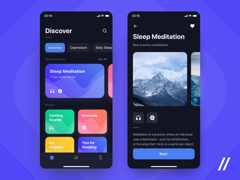 Sleep App UI