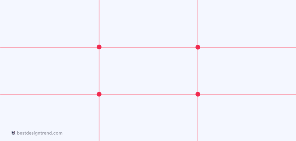 rule of thirds intersection demonstration