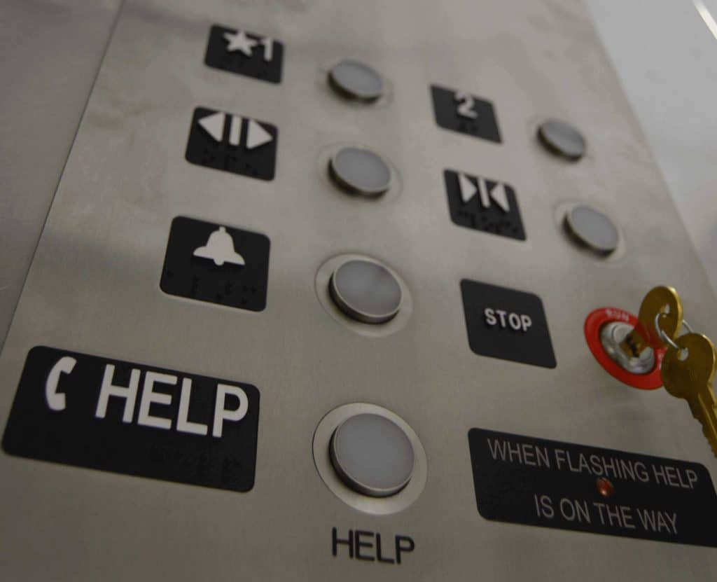 how to make design easily operable, example: accessibility on elevator button height